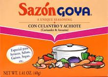 Sazon Cilantro & Achiote, 36 of 1.41 OZ, Goya