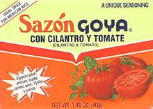 Sazon Cilantro Tomato, 8 Env., 36 of 1.41 OZ, Goya