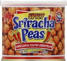 Sriracha Peas, 12 of 4.9 OZ, Hapi