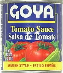 Tomato Sauce, 3 of 8 OZ, Goya