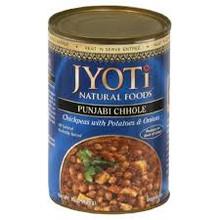 Punjabi Chhole, 12 of 15 OZ, Jyoti Indian Cuisine
