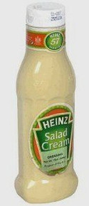 Salad Cream, Squeez Bottle, 12 of 15 OZ, Heinz