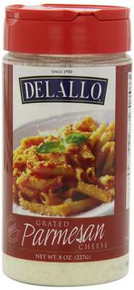 Grated Parmesan, 12 of 8 OZ, De Lallo