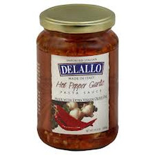 Garlic, Oil & Hot Pepper, 6 of 12.3 OZ, De Lallo