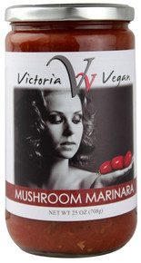 Marinara, Mushroom, Vegan, 12 of 25 OZ, Victoria