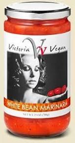 Marinara, White Bean, Vegan, 12 of 25 OZ, Victoria