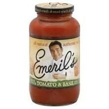 Sauce, Pasta, Tomato Basil, 6 of 25 OZ, Emerils