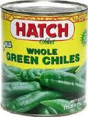 Green Chilies, Mild, Whole, 12 of 4 OZ, Hatch