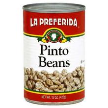 Pinto Beans, 24 of 15 OZ, La Preferida