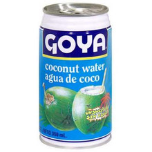 Coconut Water, Unsweetened, 24 of 11.8 OZ, Goya