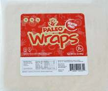 Paleo Wraps, GF, 12 of 3.5 OZ, Julian Bakery