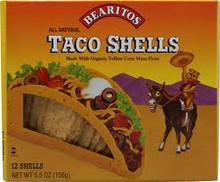 Taco, Yellow, 12 of 5.5 OZ, Bearitos