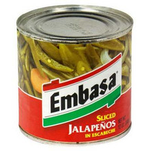 Jalapeno, 12 of 12 OZ, Embasa