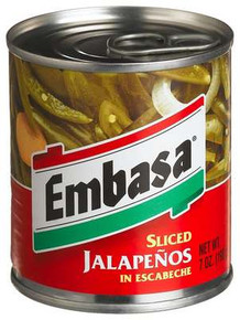Jalapeno, 12 of 7 OZ, Embasa