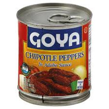 Peppers Chipotle, 12 of 7 OZ, Goya