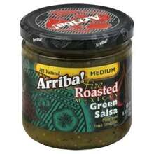 Medium Green Salsa, 6 of 16 OZ, Arriba!