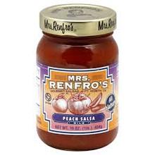 Peach, 6 of 16 OZ, Mrs Renfro'S