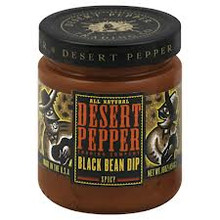 Dip, Spicy Black Bean, 6 of 16 OZ, Desert Pepper Trading Co