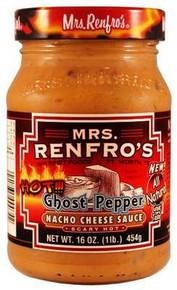 Ghost Pepper, Scary Hot, 6 of 16 OZ, Mrs Renfro'S