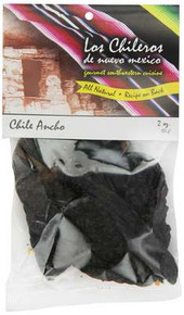 Ancho, Whole, 8 of 2 OZ, Los Chileros
