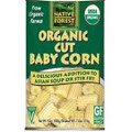 Baby Corn, Cut, 6 of 14 OZ, Native Forest