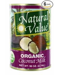 Coconut Milk, 6 of 96 OZ, Natural Value