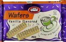 Wafers, Vanilla, 20 of 7.05 OZ, Elite