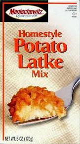 Potato Latke, Homestyle, 12 of 6 OZ, Manischewitz