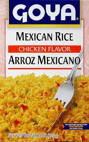 Rice Mix, Mexican, 24 of 8 OZ, Goya