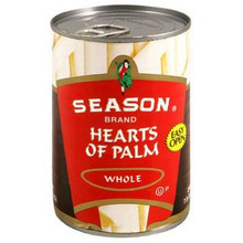 Hearts of Palm, Whole, Can, 12 of 14 OZ, Seasons