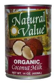 Coconut Milk, 12 of 13.5 OZ, Natural Value