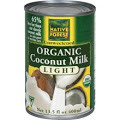 Coconut Milk, Lite, 12 of 13.5 OZ, Native Forest