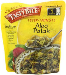 Aloo Palak, 6 of 10 OZ, Tasty Bite