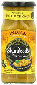Cooking Sauce, Makhani, 6 of 14.1 OZ, Sharwood