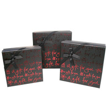 Black Nested Gift Boxes  From AFG