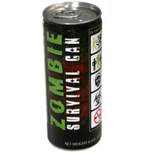 Zombie Survival Energy Drink 8.4 oz  From Boston America