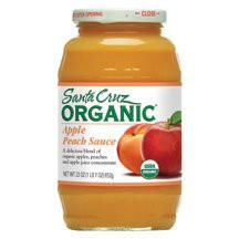 Apple Peach, 12 of 23 OZ, Santa Cruz Organic