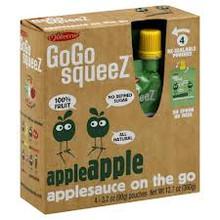 AppleSauce, 12 of 4 of 3.2 OZ, Gogo Squeez