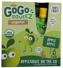 Apple Apple, 12 of 4 of 3.2 OZ, Gogo Squeez