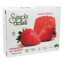 Strawberry, 6 of 1.6 OZ, Simply Delish
