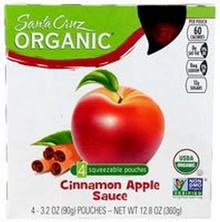 Cinnamon Apple, 24 of  3.2 OZ, Santa Cruz Organic