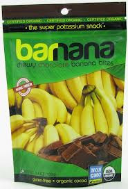 Banana Bites,Chocolate,Chewy, 12 of 3.5 OZ, Barnana