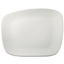 Angled White Plate 7.5'  From AFG