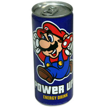 Super Mario Bros. Energy Drink 8.4 oz  From Boston America