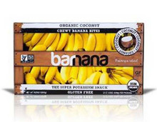 Banana Bites, Coconut, 12 of 3.5 OZ, Barnana
