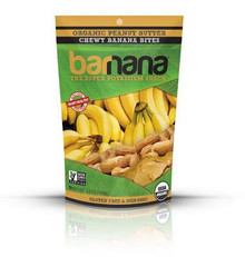 Banana Bites, Peanut Butter, 12 of 3.5 OZ, Barnana