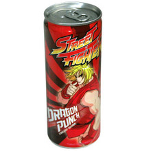 Street Fighter Energy Drink 8.4 oz  From Boston America