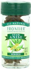 Anise Star, Whole, 0.64 OZ, Frontier Natural Products