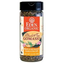 Black & Tan Gomasio, 12 of 3.5 OZ, Eden Foods