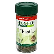 Basil Leaf, c/s, 0.56 OZ, Frontier Natural Products
